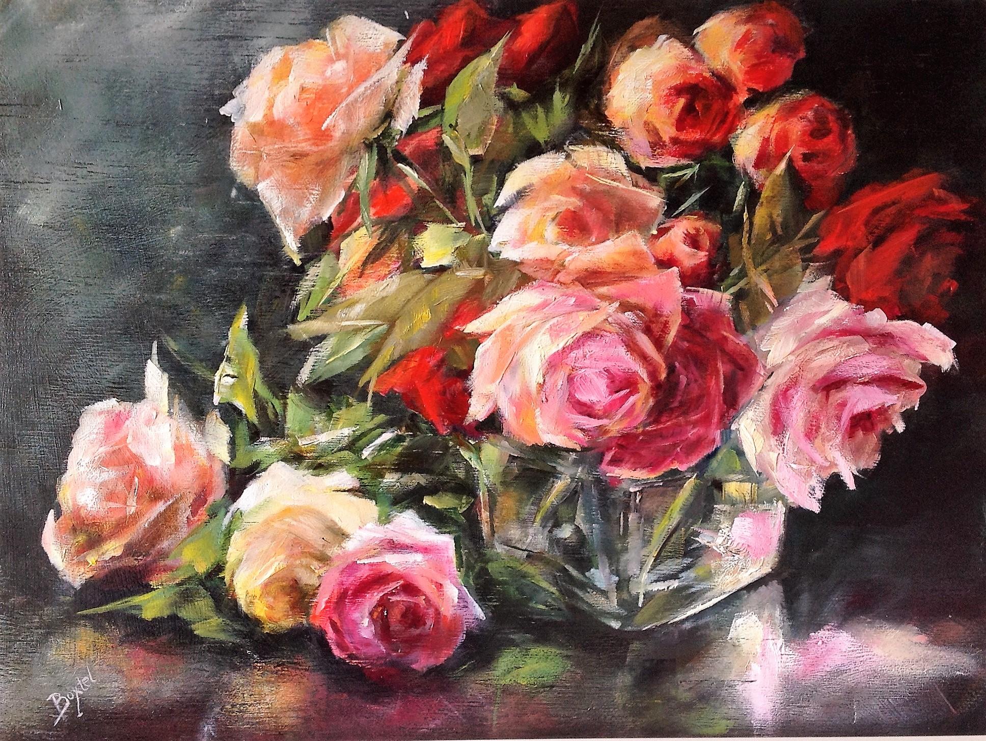 Schilderijen van Rozen