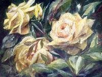 Schilderij met Rozen