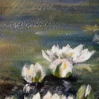Schilderij met Waterlelies