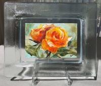 Roos-in-glazen-lijstje-4