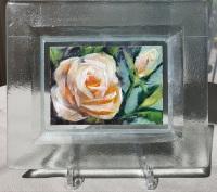 Roos-in-glazen-lijstje-7