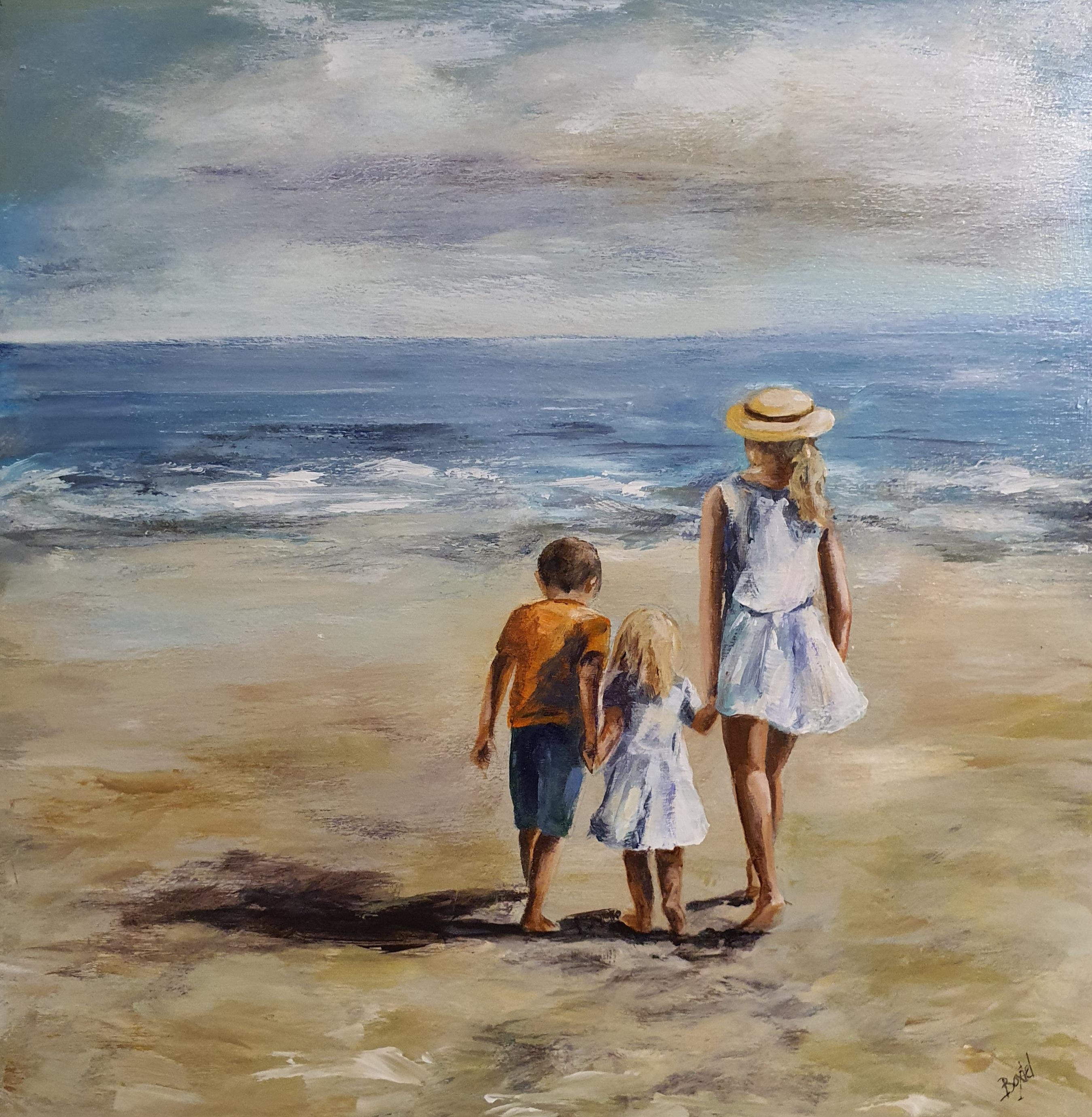 Kinderen aan zee