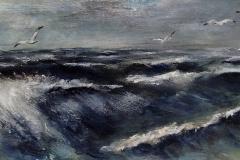 Schilderij van Zee